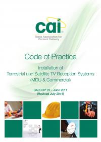 Code of Practice 01 CAI Systems July 2014