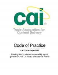 code of practice 06 cai interference mitigation april 2013 php99qC4y